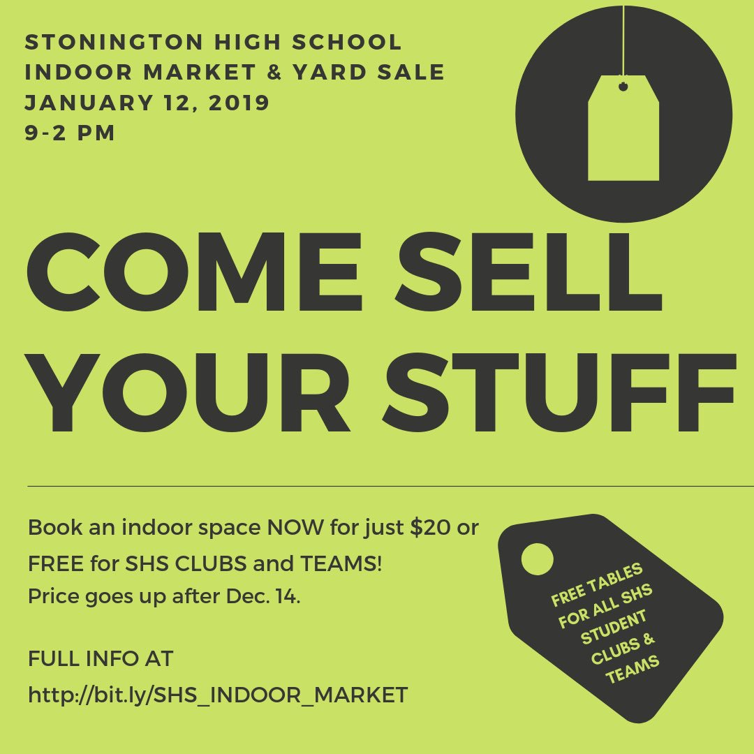 Garage Sale Book Prices Stonington High School Boys Soccer On Twitter