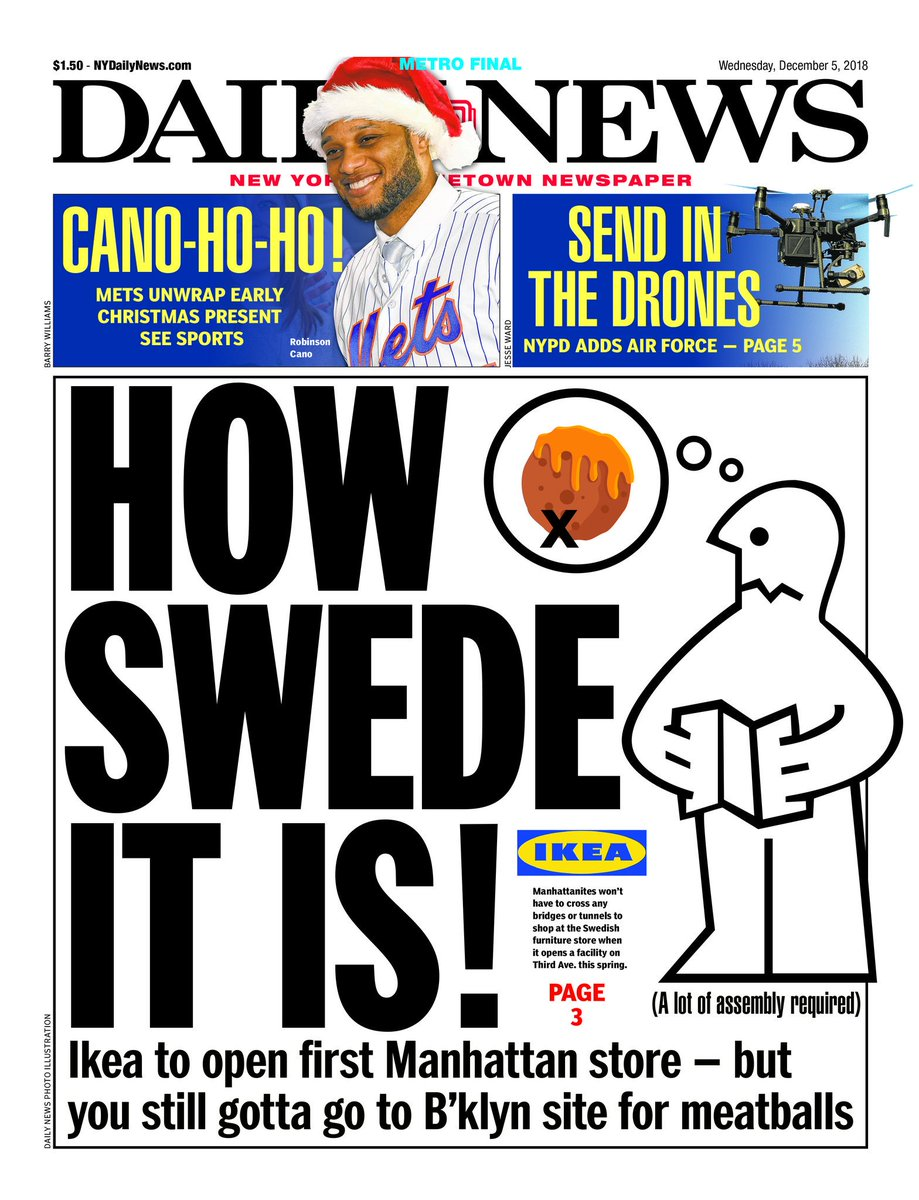 New York Poster Ikea New York Daily News On Twitter