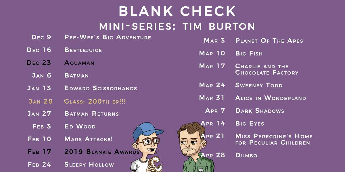 Blank Check Podcast (@blankcheckpod) Twitter