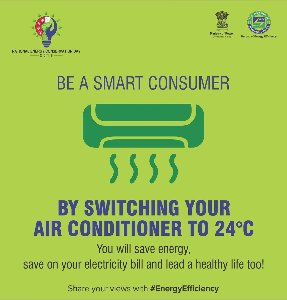 Conserve Electricity Bureau Of Energy Efficiency On Twitter