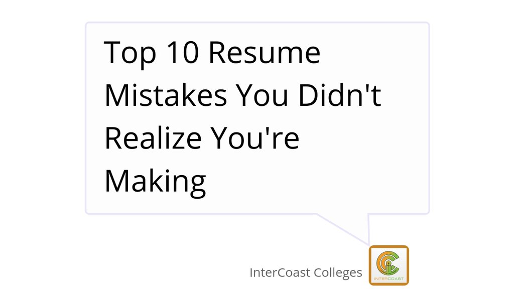 InterCoast Colleges on Twitter \