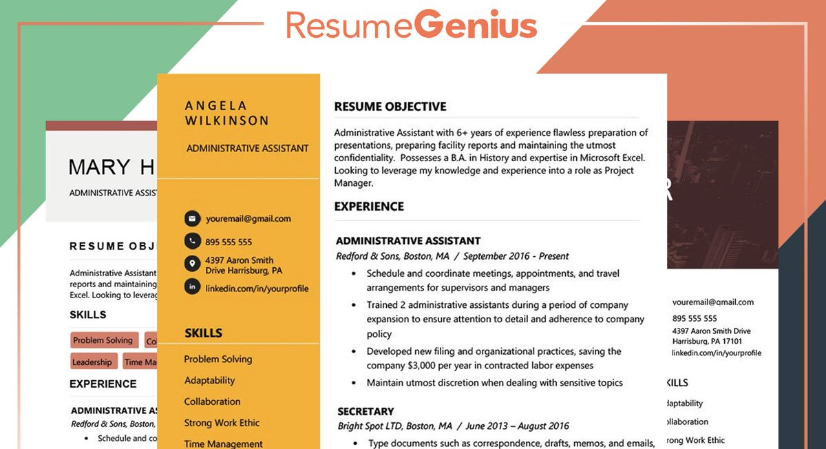 Resume Genius on Twitter \