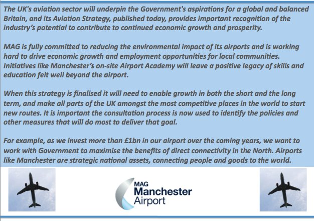 Manchester Airport on Twitter \