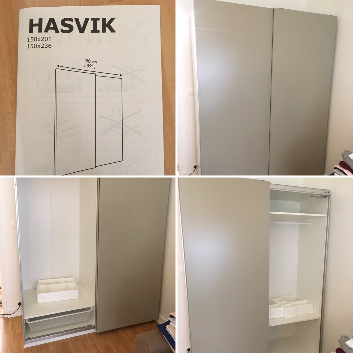 Meuble Dressing Ikea Hasvik Tagged Tweets And Downloader Twipu