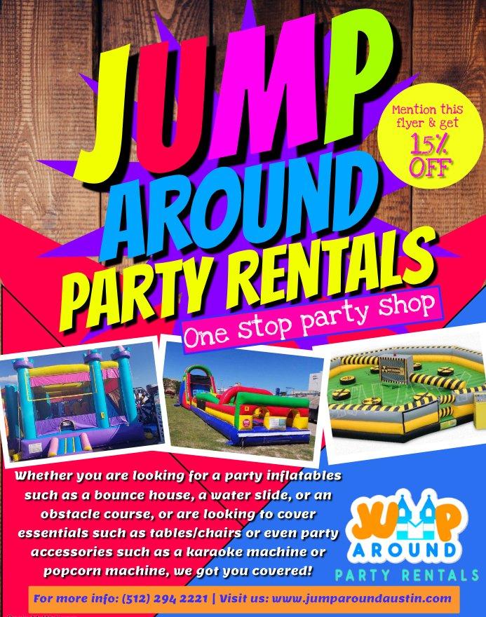 Jump Around Party Rentals (@jumparoundatx) Twitter