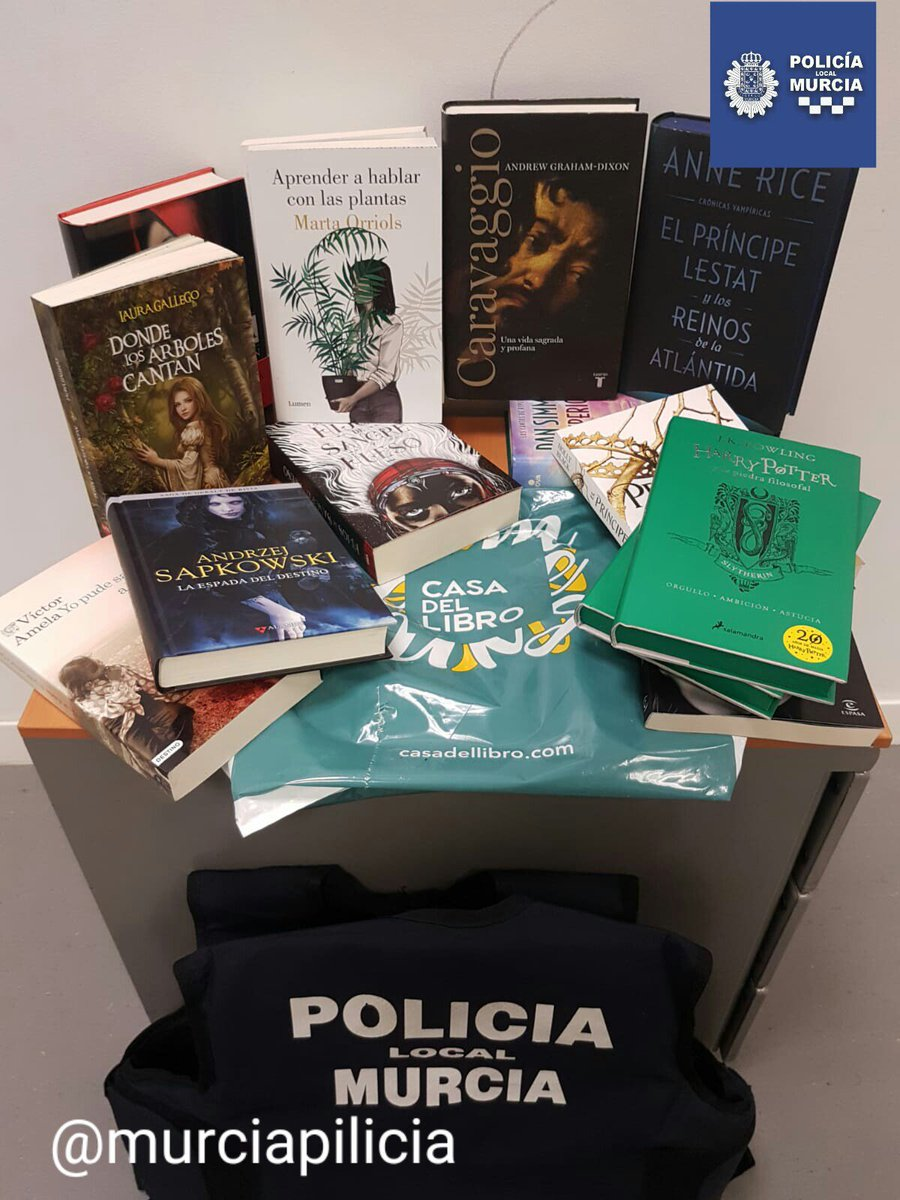 La Casa Del Libro Murcia Policía Local Murcia On Twitter