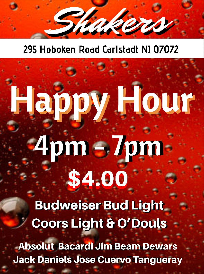 Happy Hour Places Near Me Shakers Gogo On Twitter