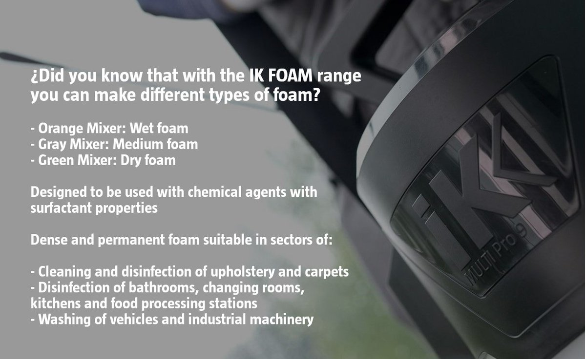 Different Types Of Foam Ik Sprayers On Twitter