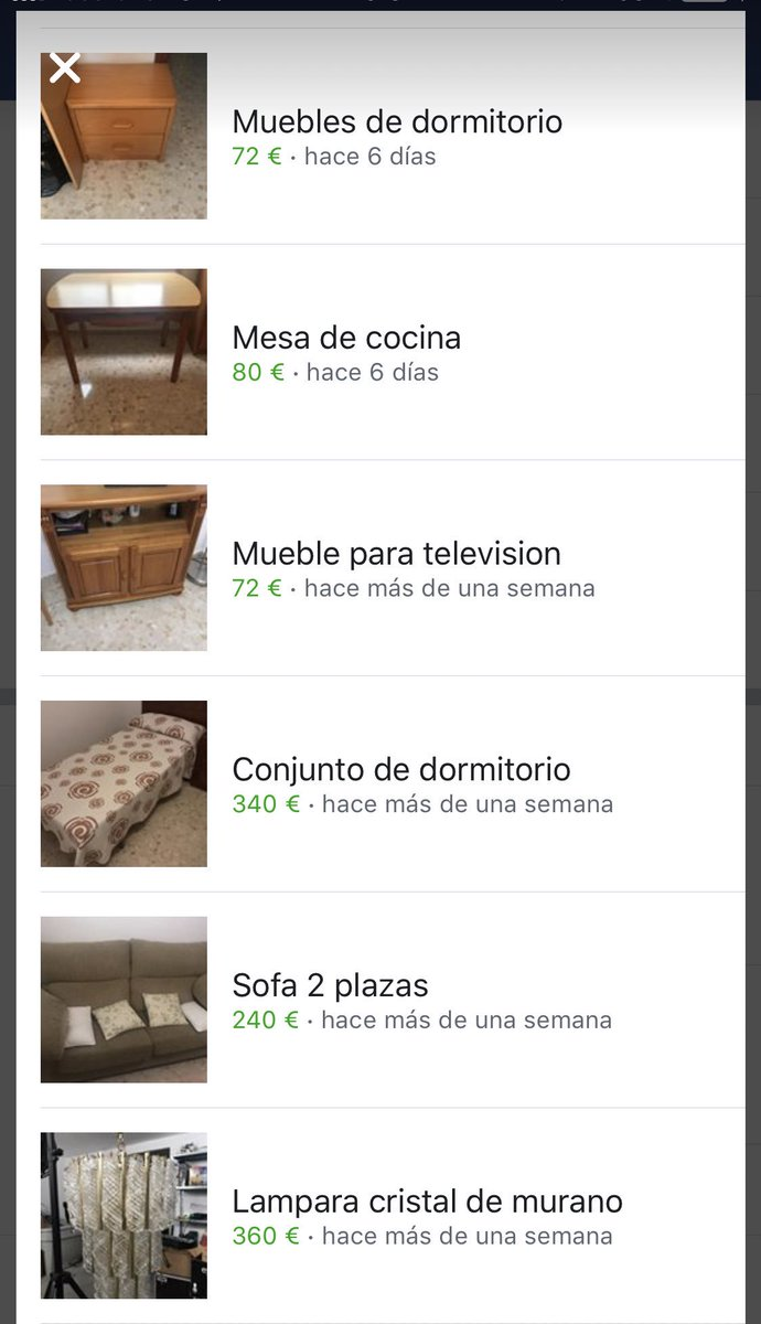 Wallapop Segunda Mano Muebles Jose On Twitter