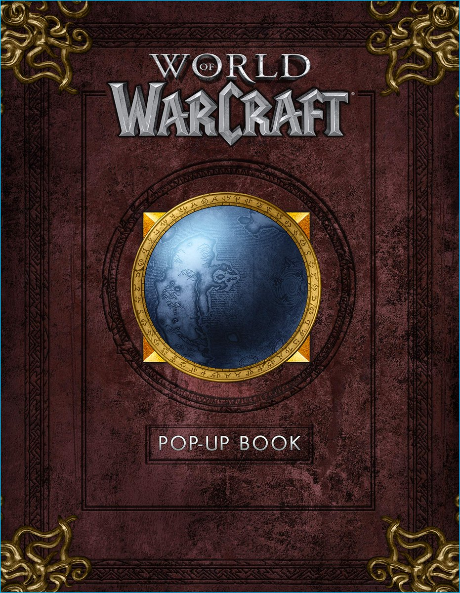 Pop Up Book Cover Blizzplanet On Twitter