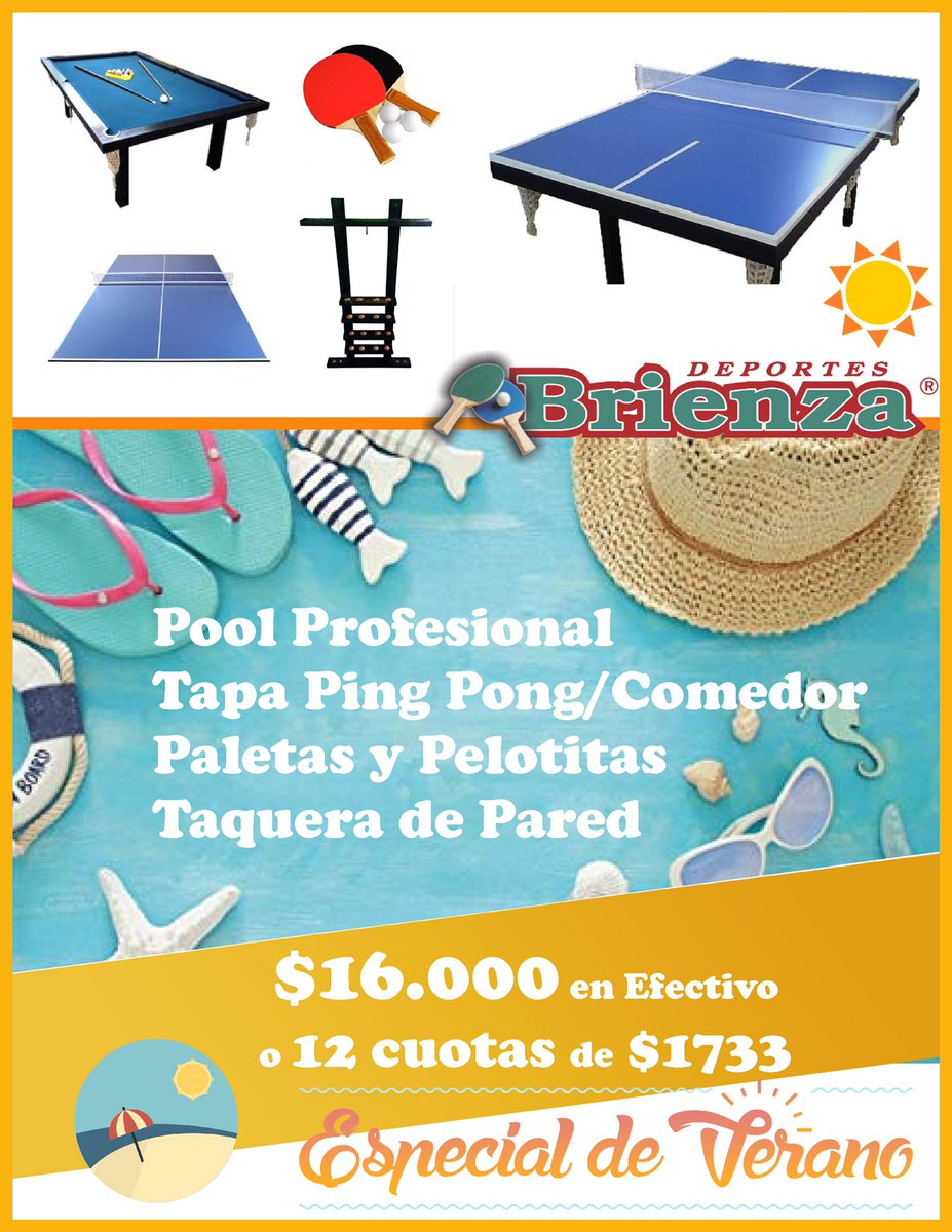 Mesa Ping Pong Oferta Deportes Brienza On Twitter