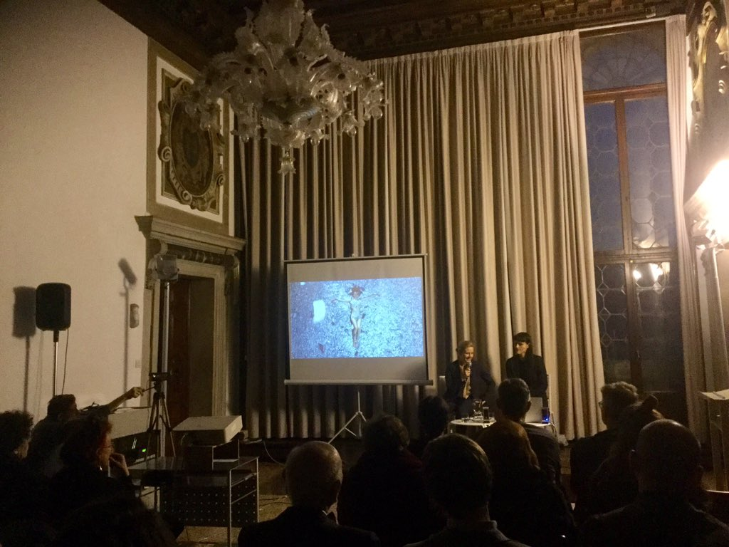 Venice Venedig Artist Talk In Venice Venezia Venedig With Host Petra Schaefer