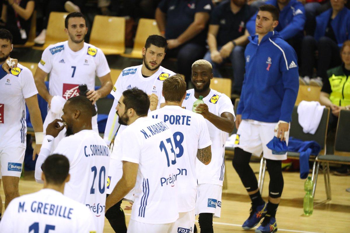resume match handball france danemark