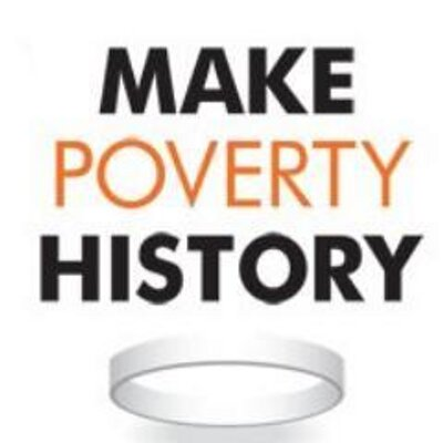 Make Poverty History (@endpovertynow) Twitter