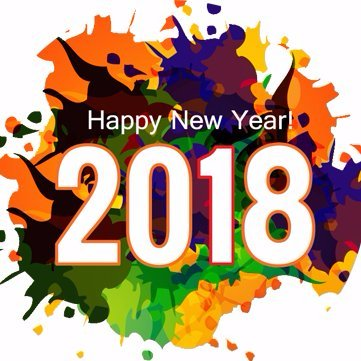 Happy New Year 2018 on Twitter \