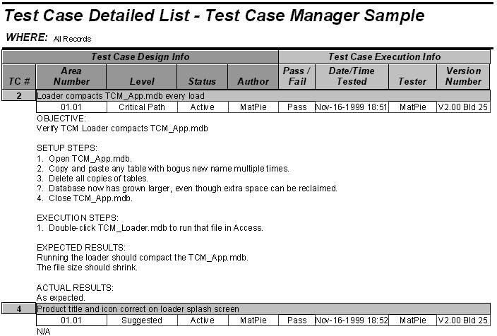 Test Case Manager