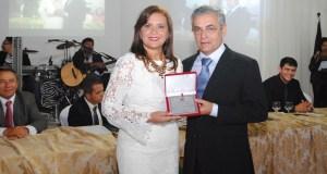 Elissandra Brito (DEM) esteve a frente da presidência da Câmara no biênio 2013/2014