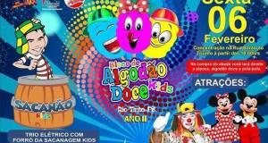 Programação do 2º ano do Algodão Doce Kids em Rio Tinto