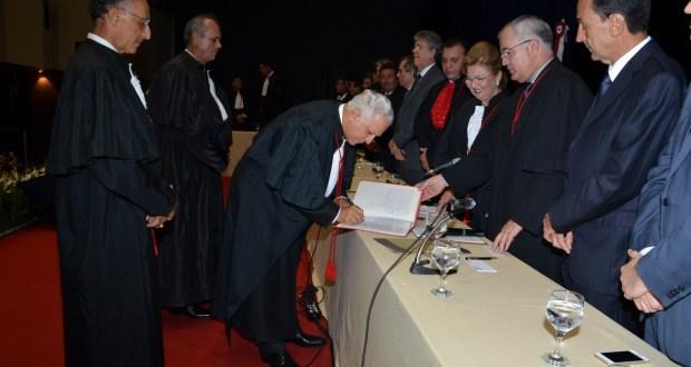 Em seu discurso, além dos desafios da magistratura brasileira, o presidente empossado apontou alguns direcionamentos necessários ao Estado.