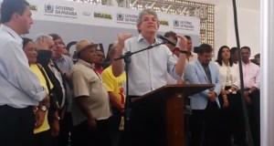 Fala do governador RC na inauguração da Escola Técnica de Mamanguape