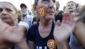Manifestantes tomam ruas de Atenas, dois dias antes do referendo Agência Lusa / Armando Babani.