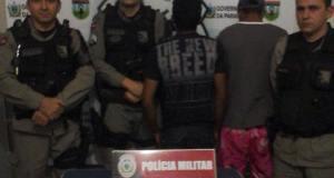 Motocicleta pilotada pelo suspeito havia sido roubada no mês de abril, em João Pessoa.