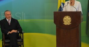 Presidente também anunciou enxugamento da máquina e redução de gasto.