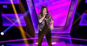 Sarah Lorena solta a voz na primeira noite de Audições (Foto: Isabella Pinheiro/Gshow)