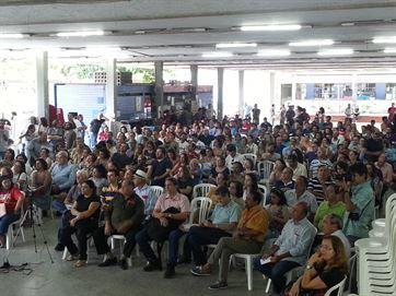 Término da greve foi decidido em assembleia.