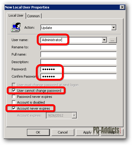 administrator of pc how to find out