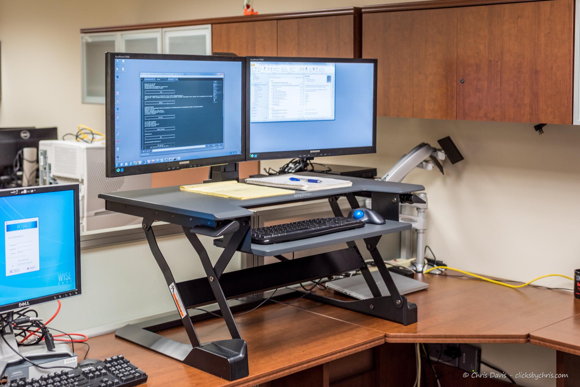 Tabletop Standing Desk  Ergotron Workfit