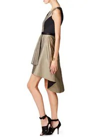 Gold Bar Dress by nha khanh for $85 | Rent the Runway