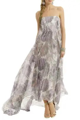 Heather Floral Printed Maxi