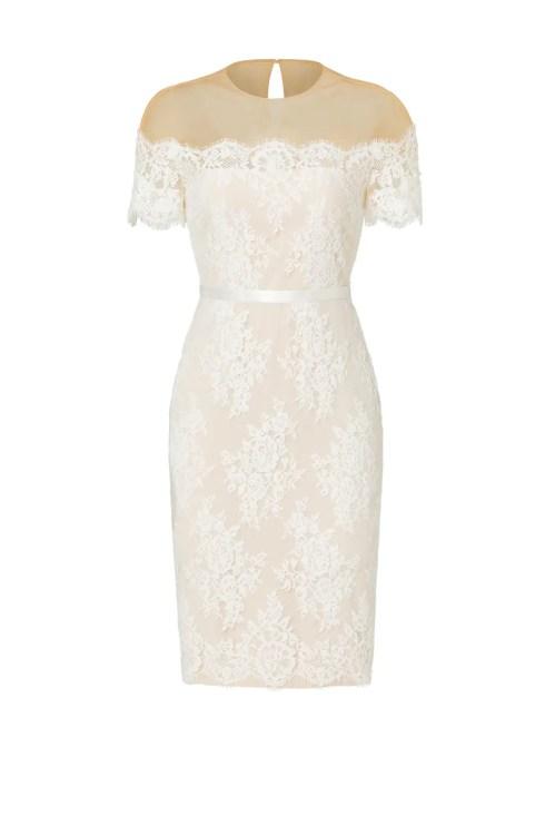 Medium Of Ivory Lace Dress
