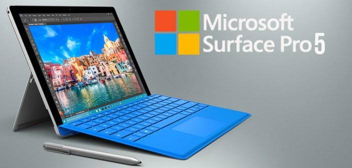 Microsoft Surface Pro 5 va veni cu rezoluția ecranului de 4k și cu cel mai nou procesor de la Intel