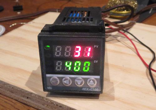 Soldering Iron PID Temperature Controller PCB Smoke