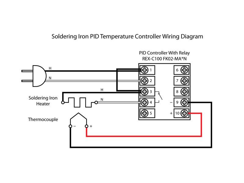 Astonishing K Type Thermocouple Circuit Diagram Basic Electronics Wiring Diagram Wiring Digital Resources Warobapapkbiperorg