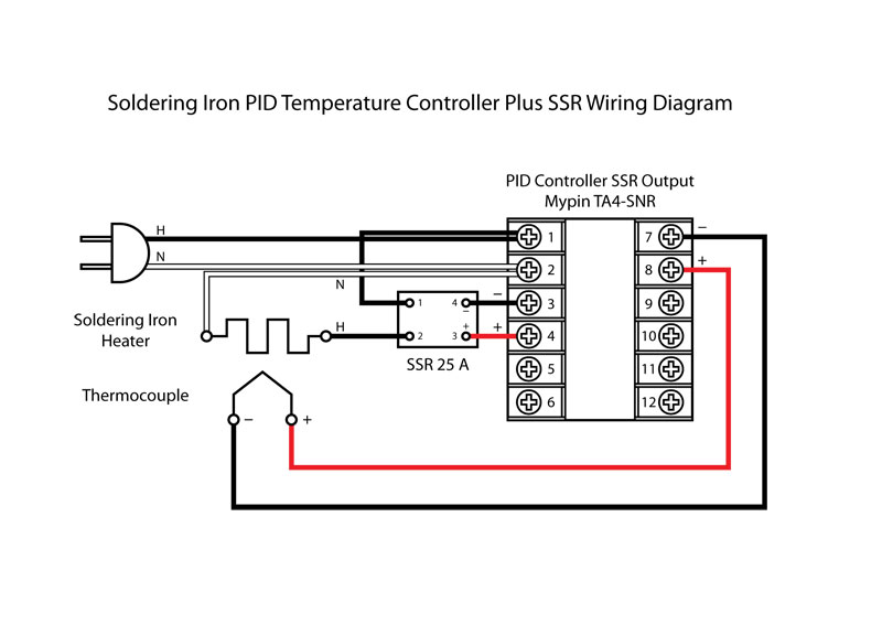 240v Contactor Wiring Wiring Diagram