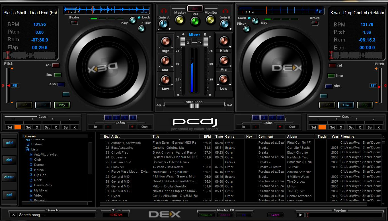 Dj Programma Dex Free Add On 39s And Extra 39s Page Pcdj