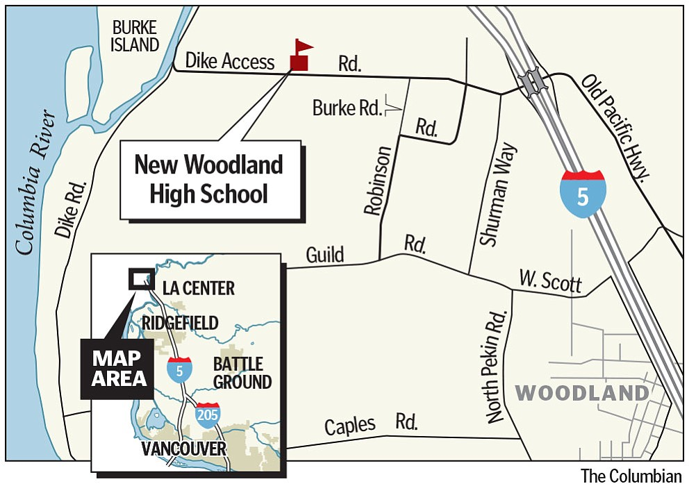 Woodland prepares state-of-the-art high school campus The Columbian