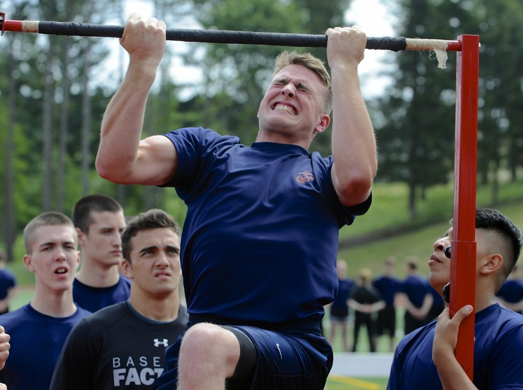 So, you want to be a Marine \u2026 The Columbian