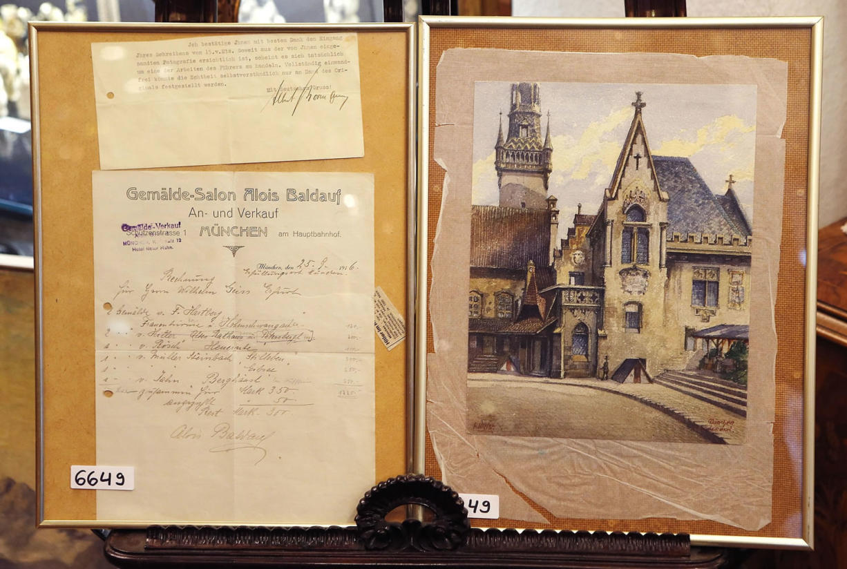 Auction House Expects 60k For Hitler Painting Columbian Com