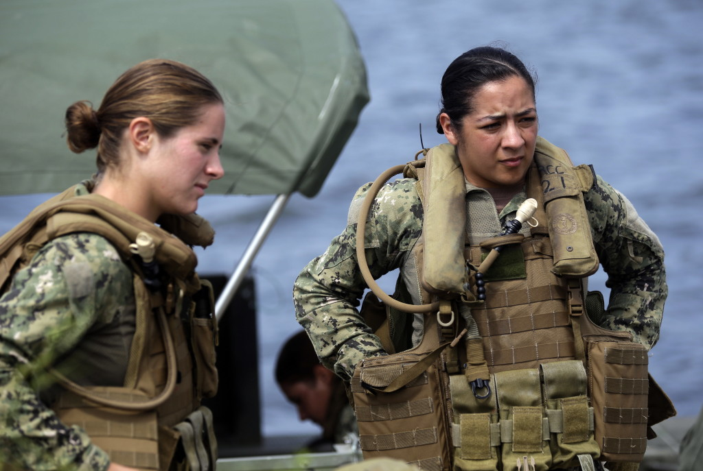 Women heading to Navy Riverine combat jobs The Columbian - us navy master at arms