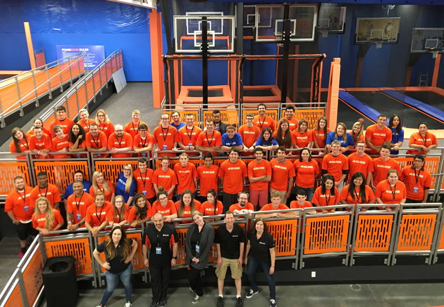New trampoline park opens in Vancouver The Columbian
