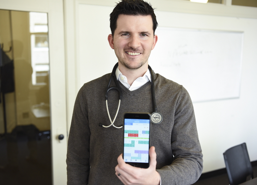 NurseGrid app is right on schedule The Columbian