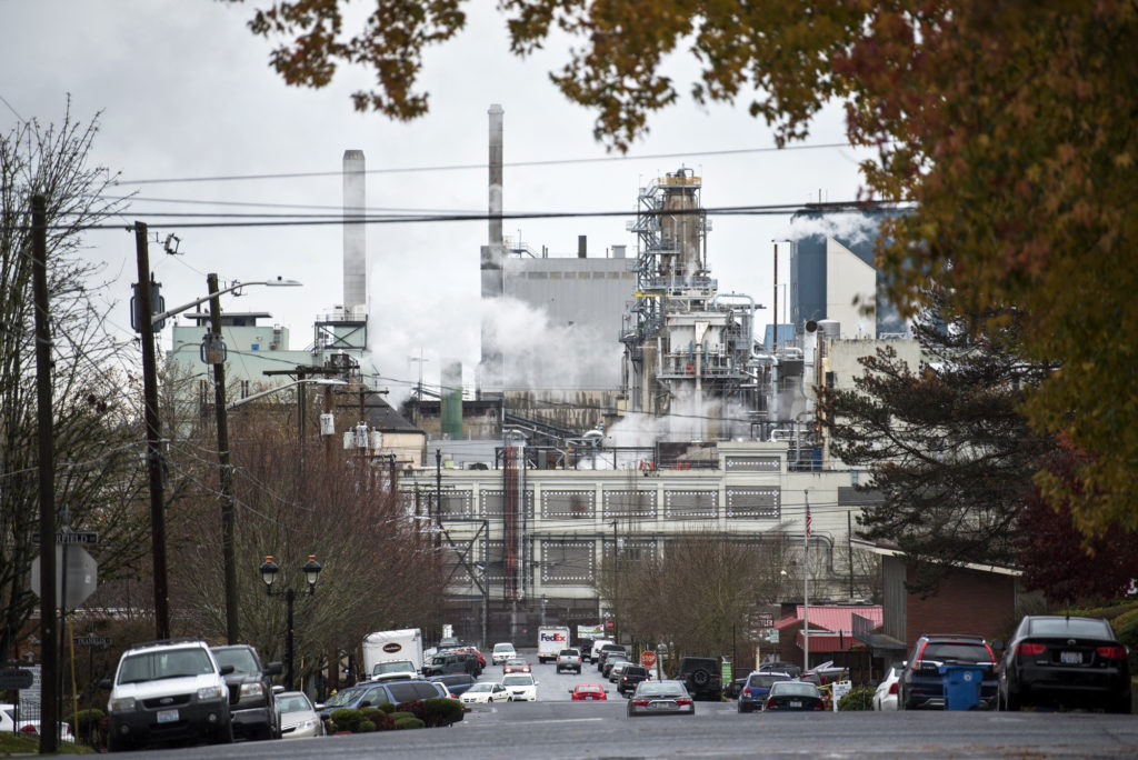 Camas Mill Will Lay Off Workers Starting May 1 The Columbian