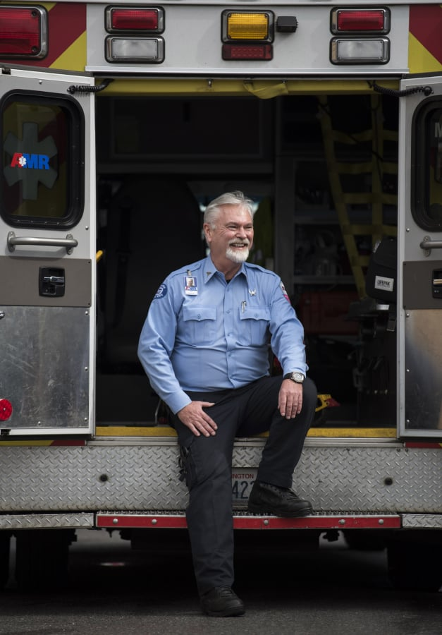 Vancouver paramedic relives long career on road The Columbian