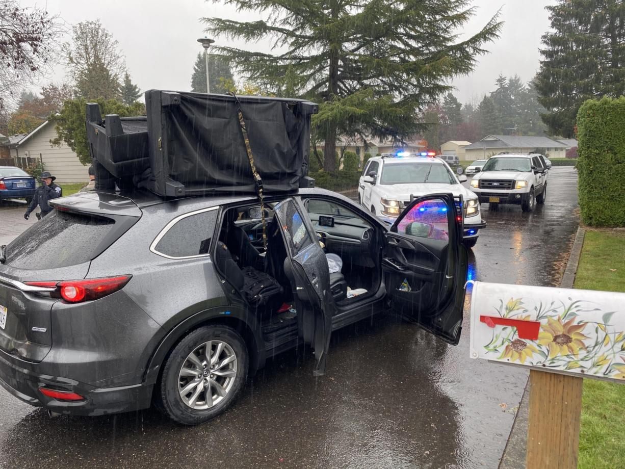 Oregon Man Arrested In Vancouver Accused In Robbery Chase The Columbian