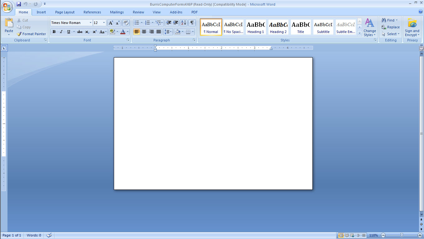 How To Make Fancy Recipe Cards Using Microsoft Word Using Ms ...