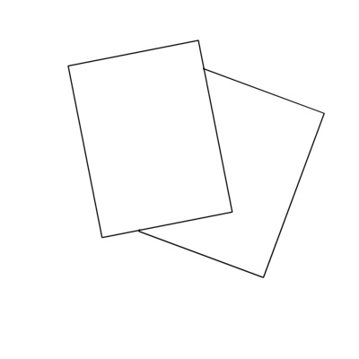Burris Blank Jumbo Single Postcard Template for Microsoft Word - Microsoft Word Postcard Template